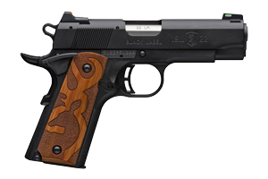 Browning Pistol: Semi-Auto 1911-22 Black Label Brown Logo Grips 2 - Click to see Larger Image