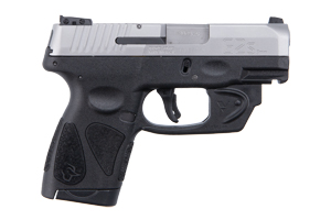 Taurus Pistol: Semi-Auto G2S SLIM With Viridian Red Laser - Click to see Larger Image
