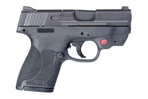 Smith & Wesson Pistol: Semi-Auto M&P Shield M2.0 W/ Crimson Trace Red Laser - Click to see Larger Image