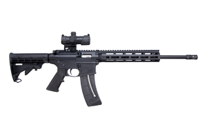 Smith & Wesson Rifle: Semi-Auto M&P15-22 SPORT W/ Red Dot - Click to see Larger Image