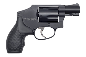 Smith & Wesson Revolver: Double Action Only Model 442 - Airweight We The People - Click to see Larger Image