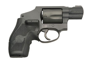 Smith & Wesson Revolver: Double Action Only M&P Military Police 340 Crimson Trace Laser Grp - Click to see Larger Image