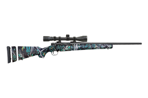 Mossberg Rifle: Bolt Action Patriot Super Bantam Rifle W/Scope - Click to see Larger Image