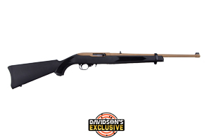 Ruger Rifle: Semi-Auto 10/22 Carbine Davidsons Exclusive - Click to see Larger Image