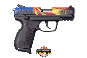 Ruger Pistol: Semi-Auto SR22PB Rimfire Pistol Davidsons Exclusive - Click to see Larger Image