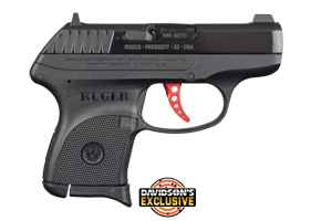 Ruger Pistol: Semi-Auto LCP Custom Davidsons Exclusive - Click to see Larger Image