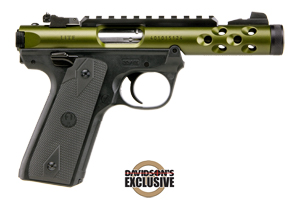 Ruger Pistol: Semi-Auto Mark IV 22/45 Lite Green - Click to see Larger Image