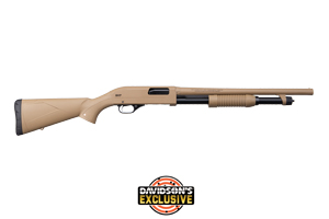 Winchester Repeating Arms Shotgun: Pump Action Super X Pump Dark Earth Defender - Click to see Larger Image