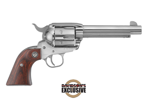 Ruger Revolver: Single Action New Vaquero Convertible Cylinder - Click to see Larger Image