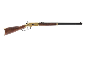 Winchester Repeating Arms Rifle: Lever Action 1866 Deluxe Octagon - Click to see Larger Image