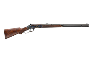 Winchester Repeating Arms Rifle: Lever Action M73 Deluxe Sporting - Click to see Larger Image