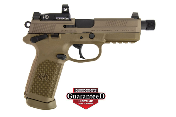 FN America Pistol: Semi-Auto FNX-45 Tactical W/Red Dot - Click to see Larger Image