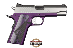 Ruger Pistol: Semi-Auto SR1911-CMD Lightweight Purple - Click to see Larger Image