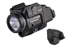 Streamlight  TLR-8A Flex LED Rail Mounted Light/Green Laser - Click to see Larger Image
