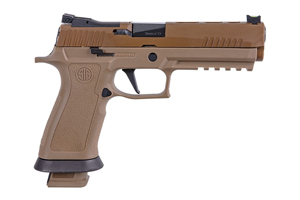 Sig Sauer Pistol: Semi-Auto P320 X-FIVE COYOTE - Click to see Larger Image