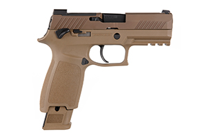 Sig Sauer Pistol: Semi-Auto P320 M18 - Click to see Larger Image