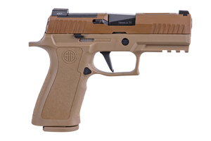 Sig Sauer Pistol: Semi-Auto P320 X-CARRY COYOTE - Click to see Larger Image