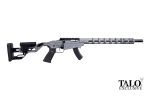 Ruger Rifle: Bolt Action Ruger Precision Rimfire TALO Edition - Click to see Larger Image