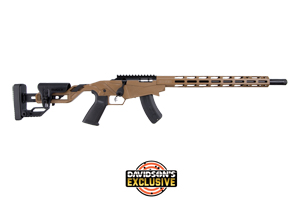 Ruger Rifle: Bolt Action Ruger Precision Rimfire Davidsons Exclusive - Click to see Larger Image