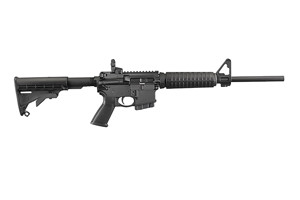 Ruger Rifle: Semi-Auto AR-556 M4-Style Direct Impingment MSR - Click to see Larger Image