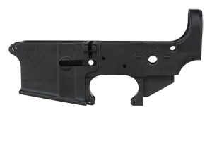 Ruger AR Lower: Receiver Only AR-556 Lower Receiver - Click to see Larger Image
