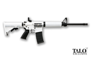 Ruger Rifle: Semi-Auto AR-556 Whiteout TALO Edition - Click to see Larger Image