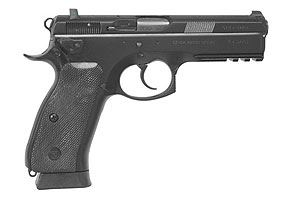 CZ-USA Pistol: Semi-Auto CZ 75 SP-01 Tactical Decocker - Click to see Larger Image