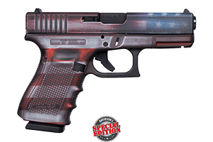 Apollo Custom|Glock Gen 4 19 Battleworn Flag ACG-00824