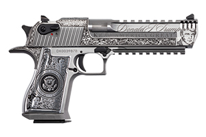 Magnum Research Pistol: Semi-Auto Desert Eagle Mark XIX Trump Davidsons Exclusive - Click to see Larger Image