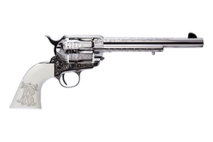 Cimarron Revolver: Single Action Frontier Teddy Roosevelt - Click to see Larger Image
