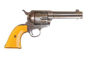 Cimarron Revolver: Single Action Rooster Shooter - Click to see Larger Image
