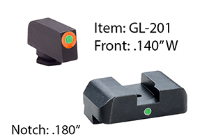Ameriglo  Glock Tritium I-Dot Sets - Click to see Larger Image